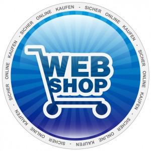 Button für einen Webshop